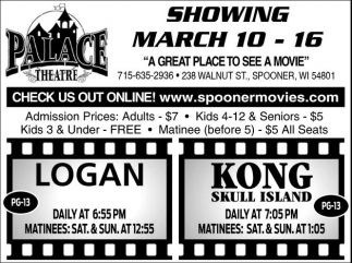 Logan - Kong Skull Island