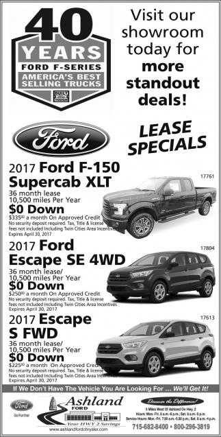 40 Years Ford F-Series America's Best Selling Trucks