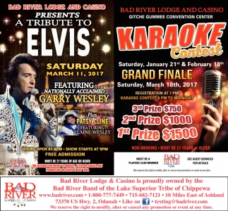 Presents a tribute to Elvis