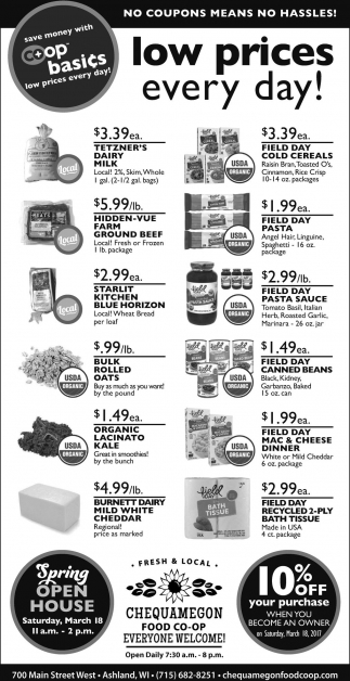 Low Prices Every Day!