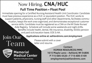 CNA / HUC Full Time
