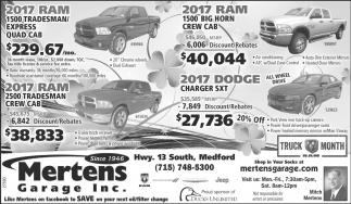 Truck Month Ram
