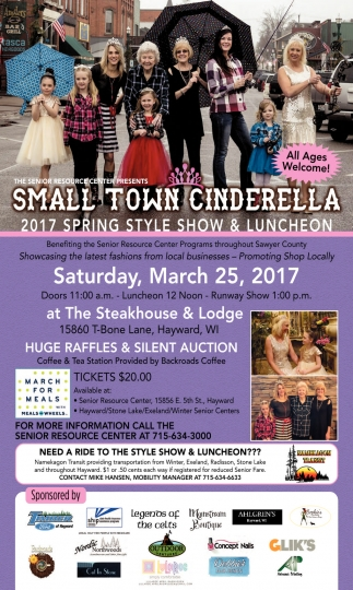 Small Town Cinderella 2017 Spring Style Show & Luncheon