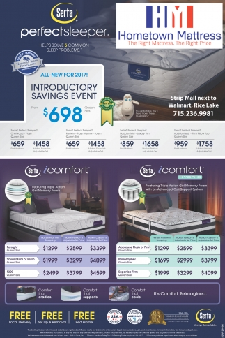 Introductory Savings Event $698