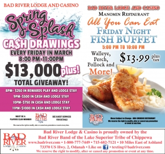 Spring Splash Cash Drawings