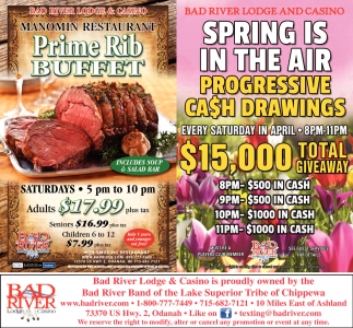 Spring Is In The Air, Progressive Cash Drawings