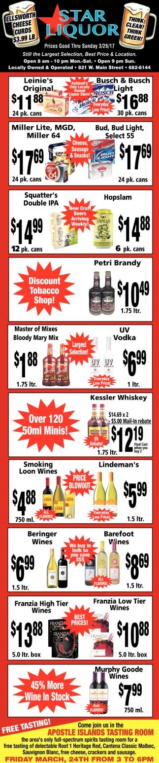 Prices Good Thru Sunday 3/26/17