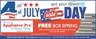 4th of JULY sale DAY