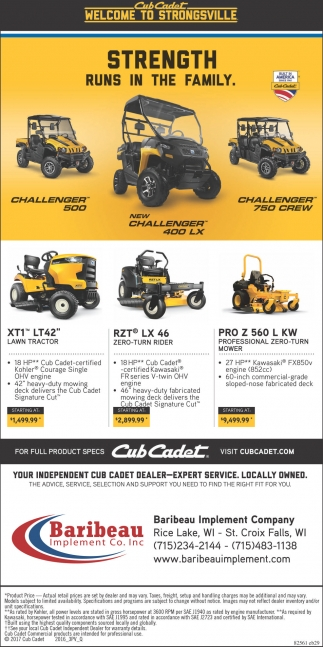 Your Independent Cub Cadet Dealer Expert Service Locally Owner
