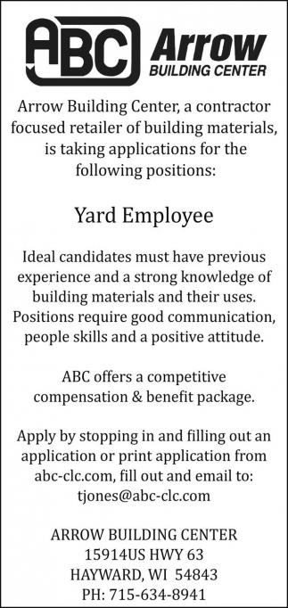 Yard Employee
