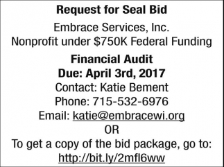 Request for Seal Bid