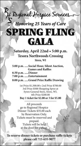 Spring Fling Gala