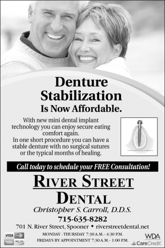 Denture Stabilization. Is Now Affordable