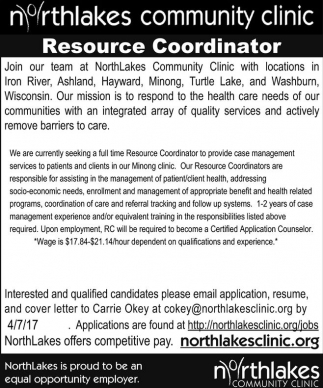 Resource Coordinator