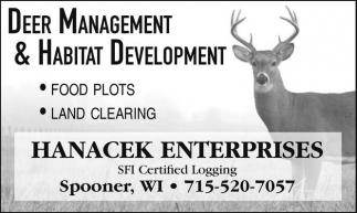 Deer Management & Habitat Development