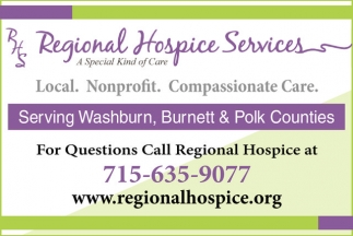 Local. Nonprofit. Compassionate Care.
