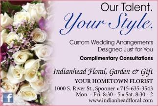 Custom Wedding Arrangements, Designed Just for You