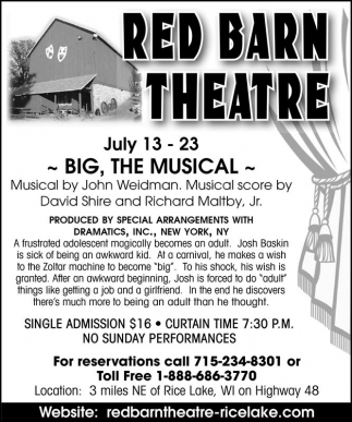 Big, The Musical
