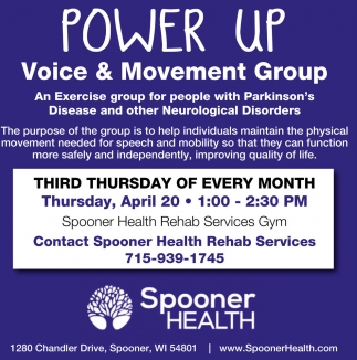 Exercise group for people with Parkinson's and other Neurological Disorders