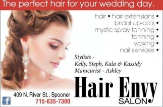 Hair Tanning Waxing Nails Hair Envy Salon