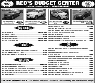 Every Vehicle $9,999 & Less!