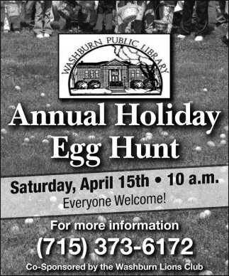 Annual Holiday Egg Hunt