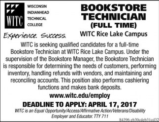 Bookstore Technician