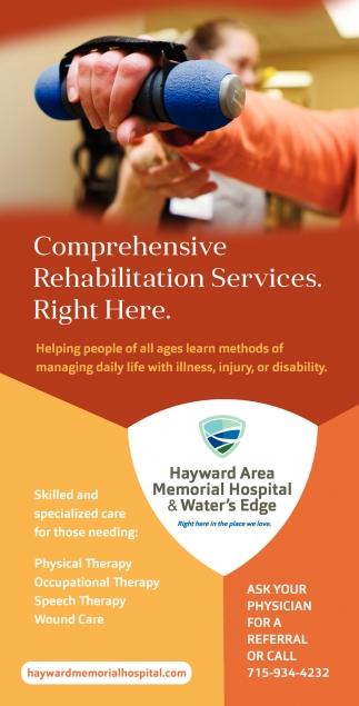 Rehabilitation Services