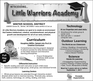 Little Warriors Academy