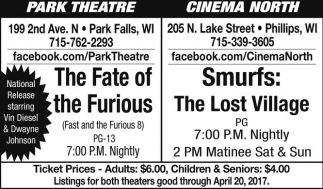 The Fate of the Furious / Smurfs: The Lost Village