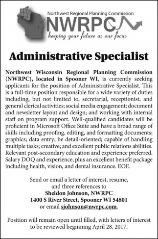 Administrative Specialist