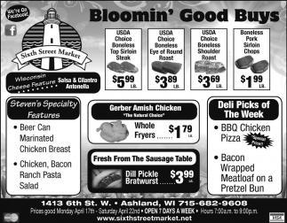 Bloomin' Good Buys