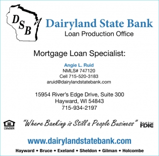 Mortgage Loan Specialist: Angie L. Ruid