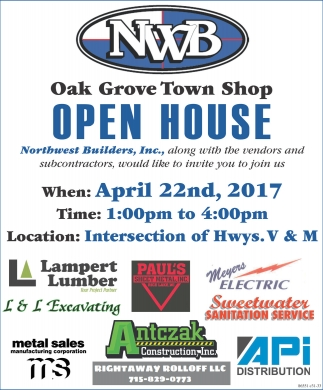 Oak Grove Town Shop Open House