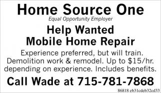 Mobile Home Repair