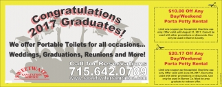 Portable Toilets for all occasions