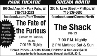 The Fate of the Furious / The Shack