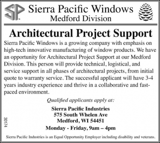 Architectural Project Support