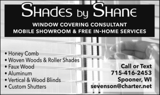 Window Covering Consultant