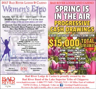 2017 Bad River Lodge & Casino Women's Expo