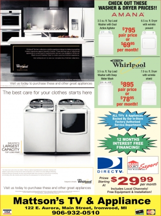 Check out these washer & dryer prices!!