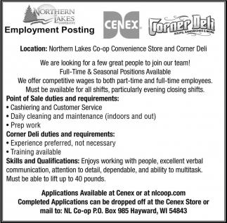 Employment Posting