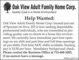wanted Adult help
