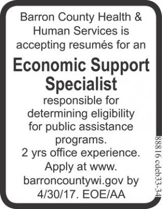 Economic Support Specialist