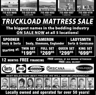 Truckload Mattress Sale