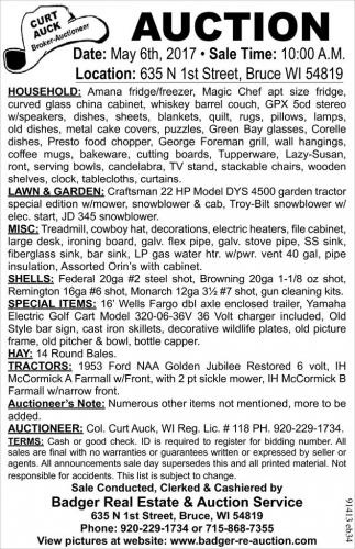 Household, Lawn & Garden, Misc, Shells, Tractors