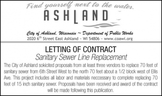 Sanitary Sewer Line Replacement