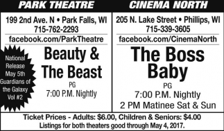Beauty & The Beast / The Boss Baby