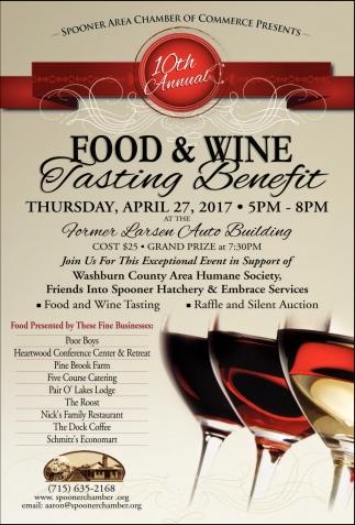 Food & Wine Tasting Benefit