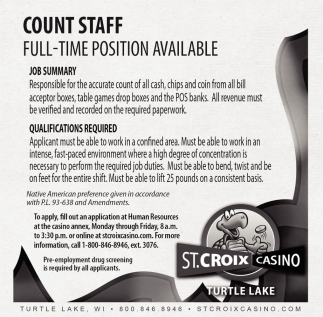 Count Staff